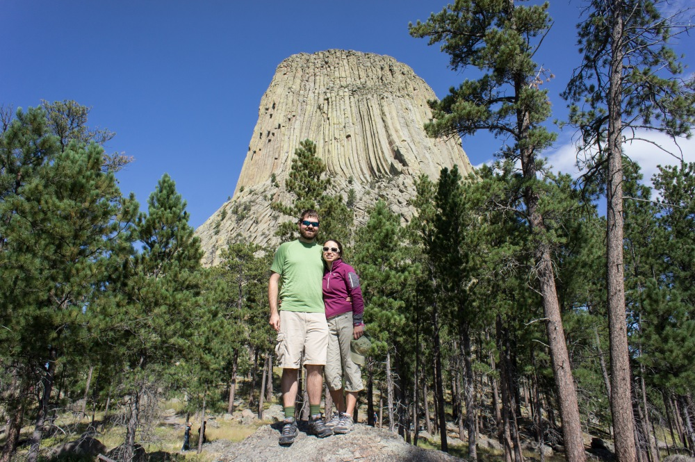 Us at Devils Tower (East side)
