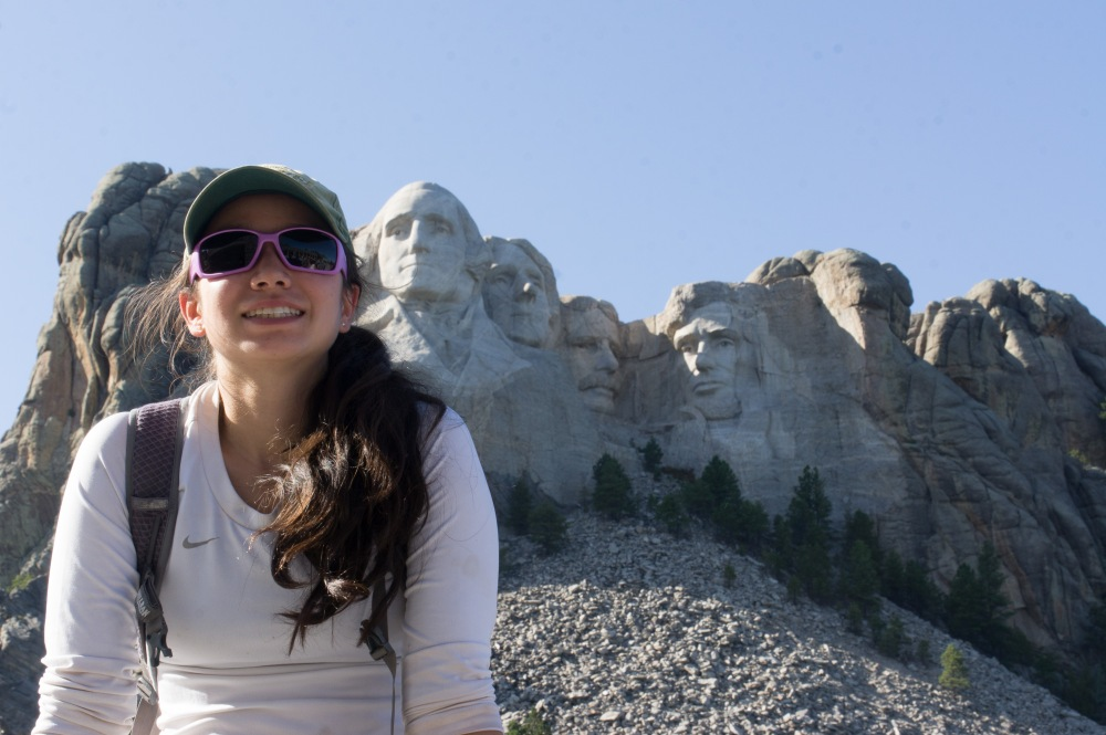 Amanda and Mt. Rushmore