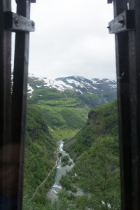 It is a short 20 km railroad line from the mountains at 4000+ ft to sea level, surrounded by waterfalls.