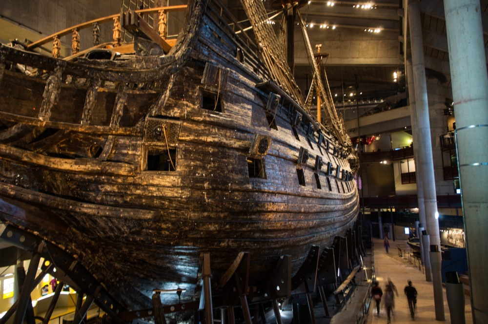 The Vasa was a huge ship!