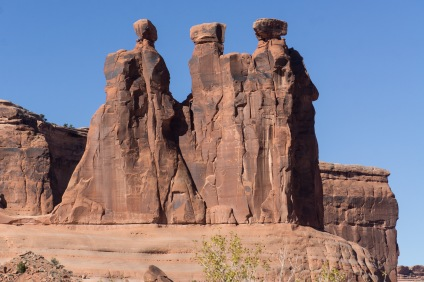 The Three Gossips. Arches National Park
