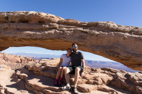 Mesa Arch at Canyonlands Island in the Sky