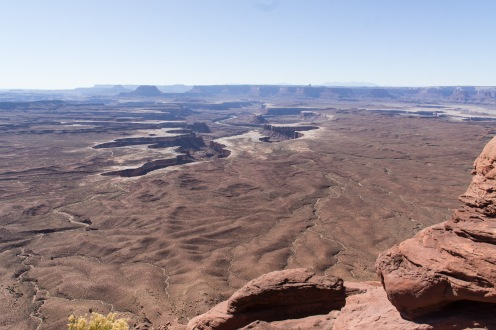 White Rim of Canyonlands Island in the Sky.