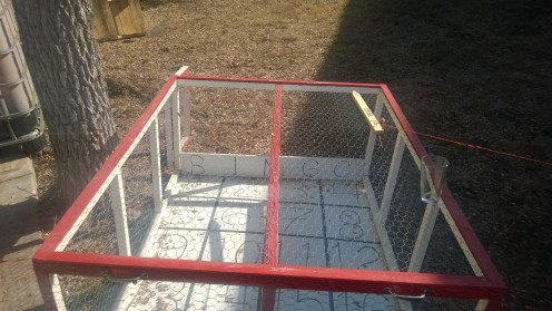 Chicken shit bingo cage!