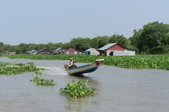 Locals on their boat.