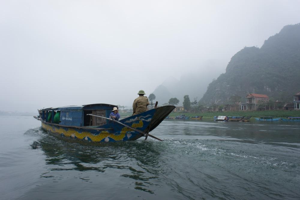 Boat to Phong Nga Cave