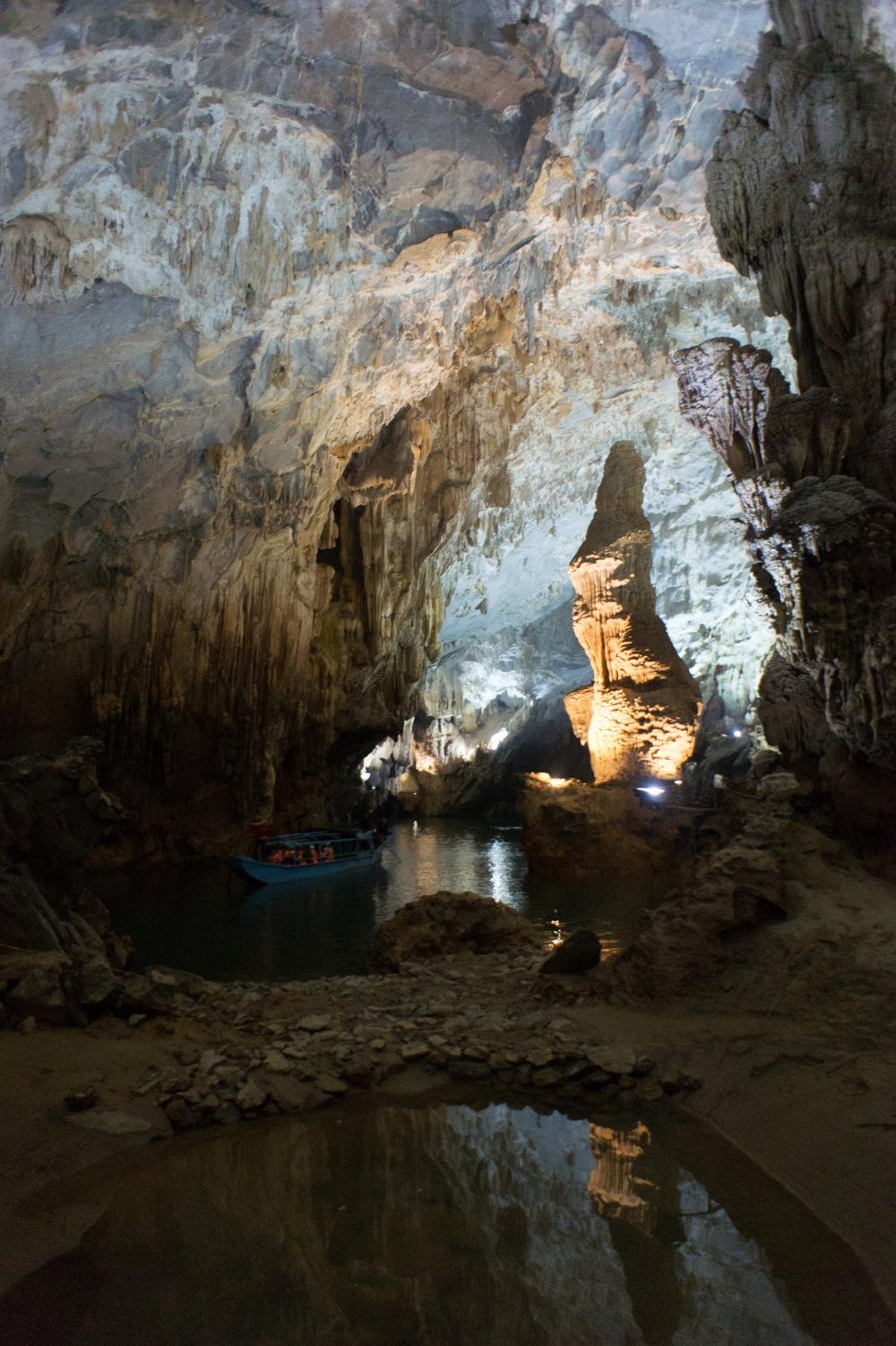 Inside Phong Nga Cave