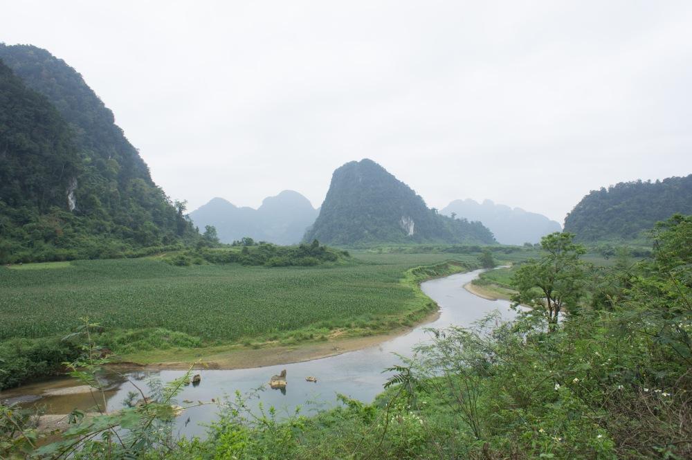 Ho Chi Minh Highway north of Phong Nha