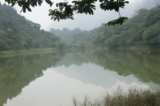 Lake in Cuc Phuong National Park